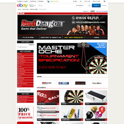 Red-Dragon-Darts-ebay-shop-design