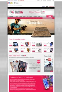 Tuff Luv ebay shop design