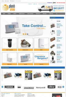 Plumbarena ebay store design home page
