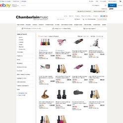 Chamberlain-Music-ebay-shop-design-category-view
