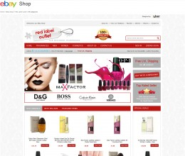 Red Label Outlet ebay store design