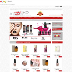Red-Label-Outlet-store-enterprise-home-page-design-