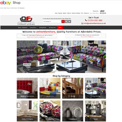Online4Furniture-ebay-store-design