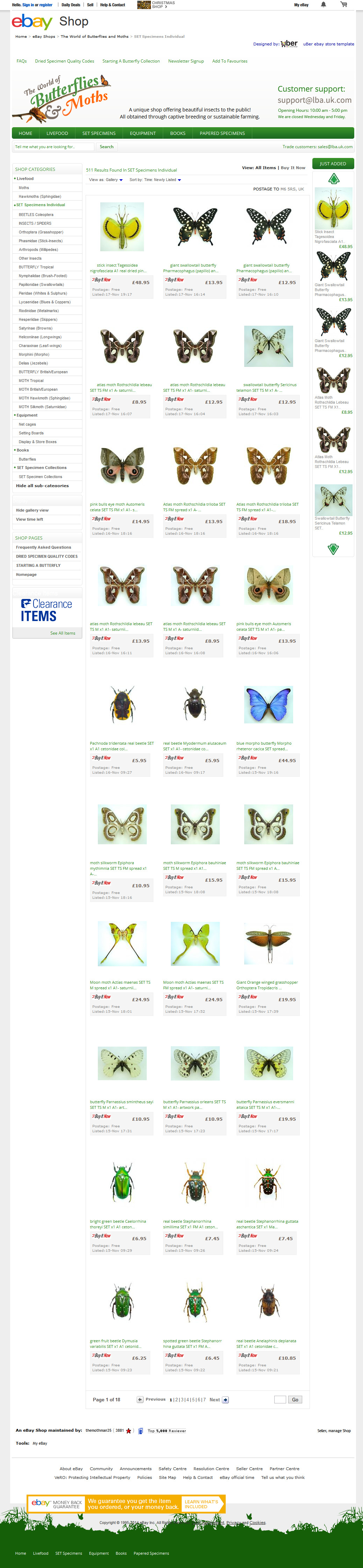 butterflyandmoths-ebay-shop-category-design