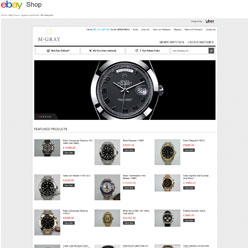 mgrayluxurywatches-ebay-shop-design