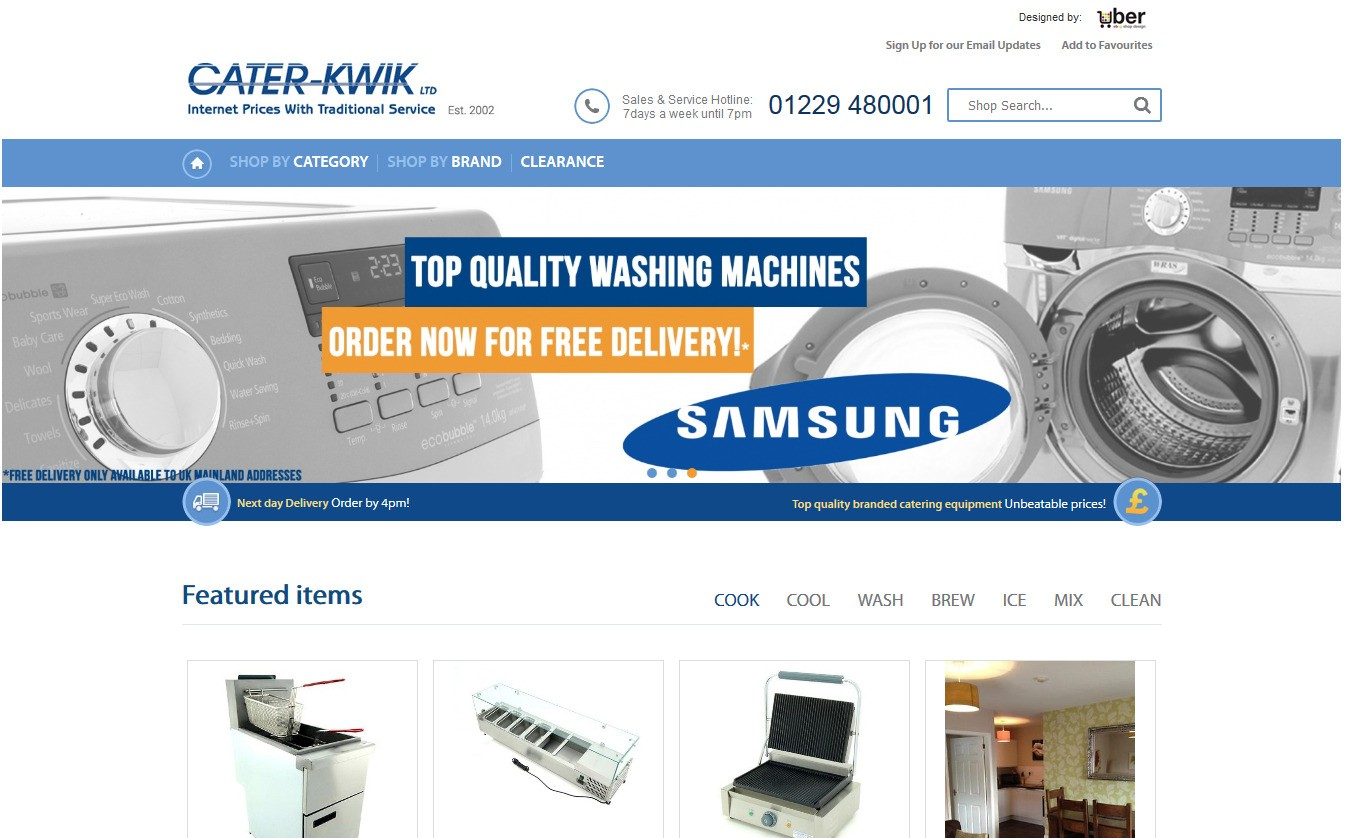 Cater-Kwik store on eBay!