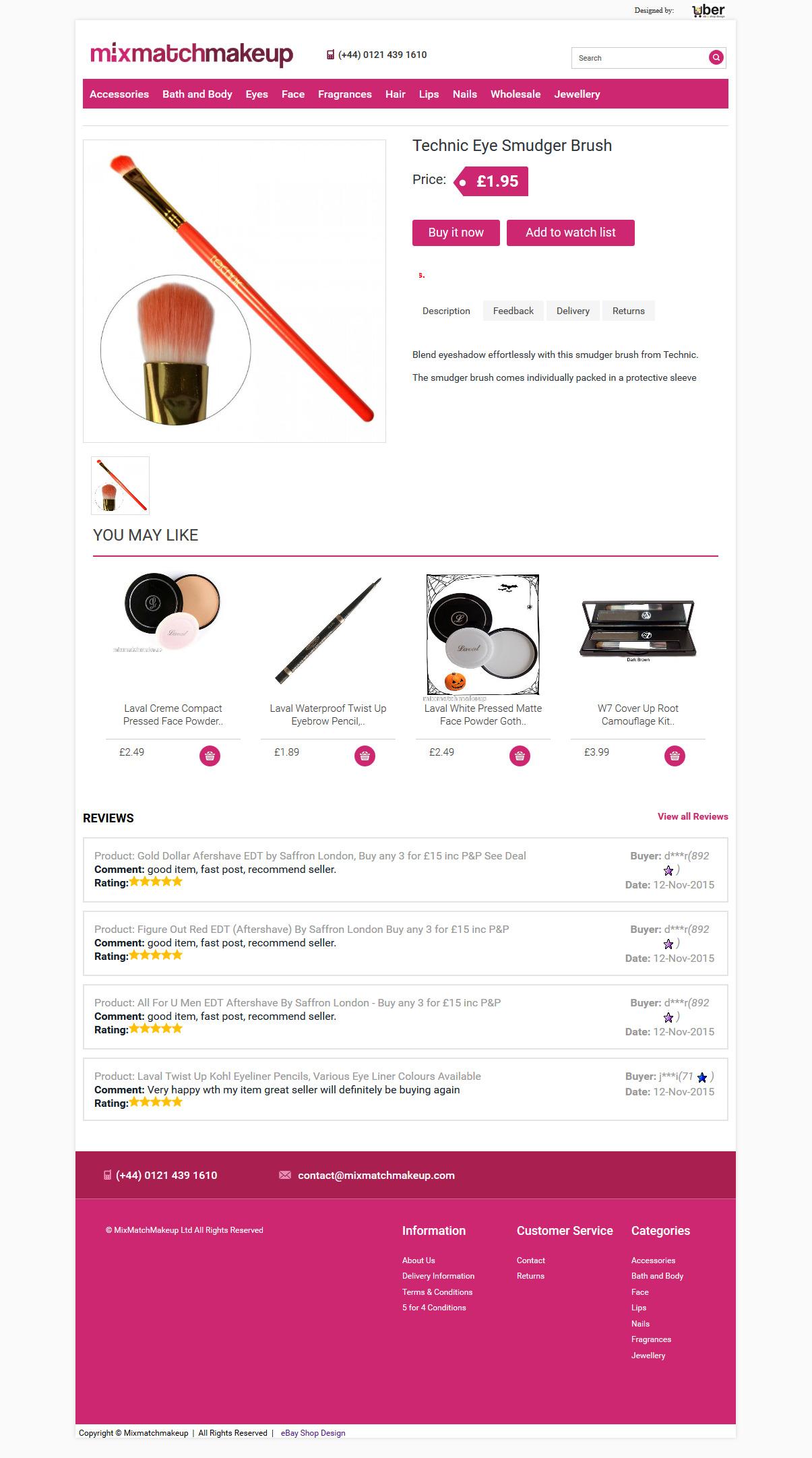 item view Mix Match Makeup store