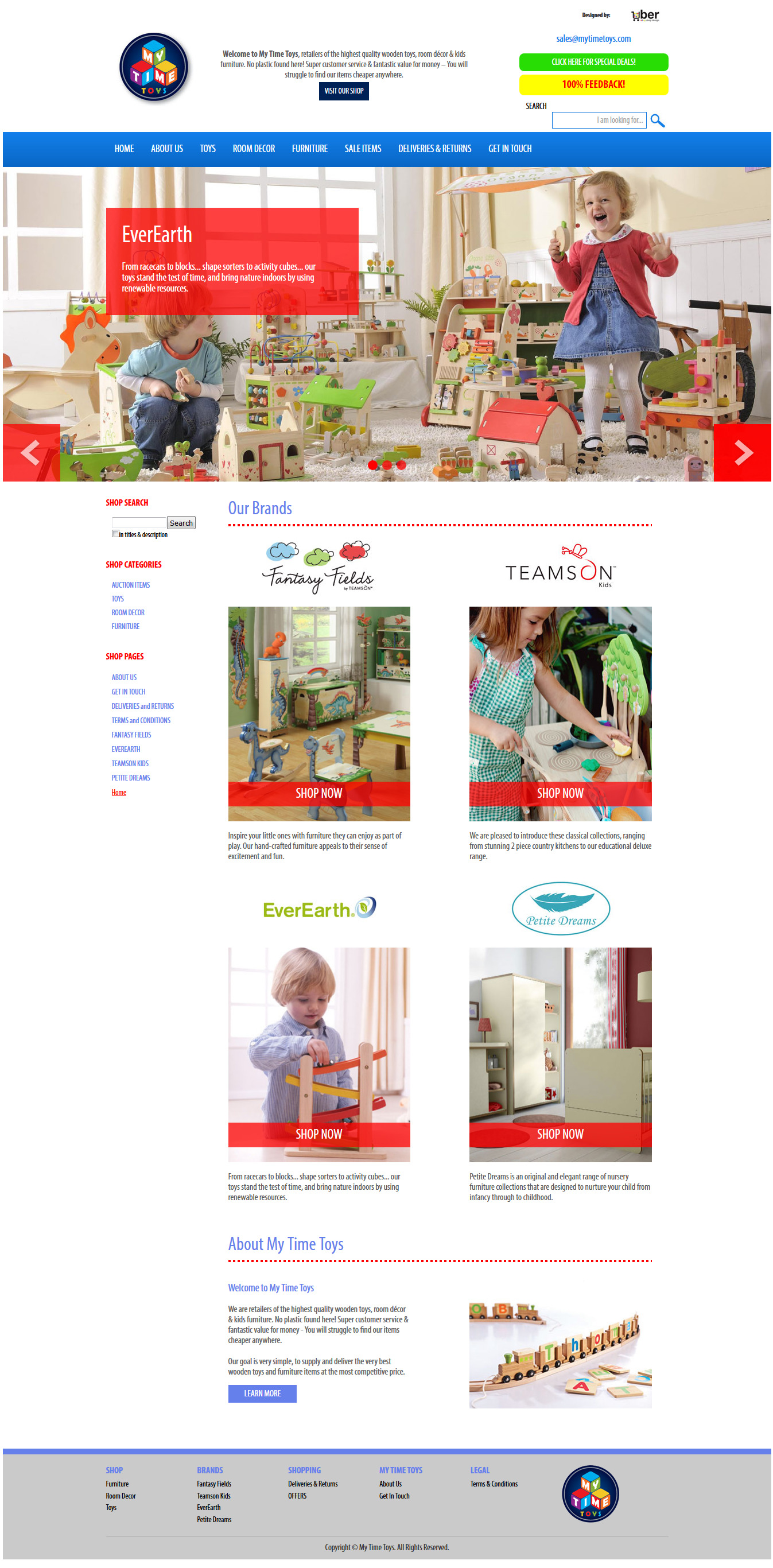 My Toy Time storefront