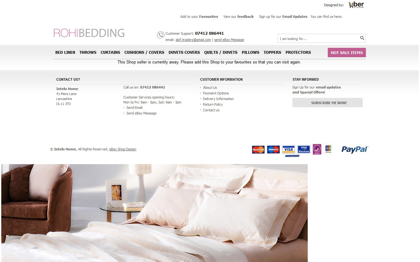 Rohi Bedding store