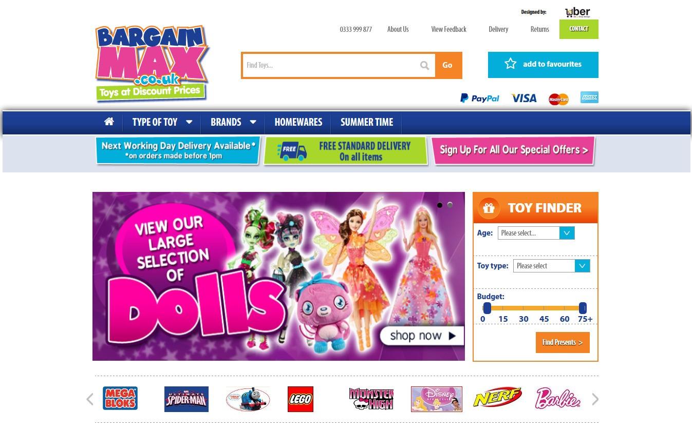 Bargian Max online store ebayshop
