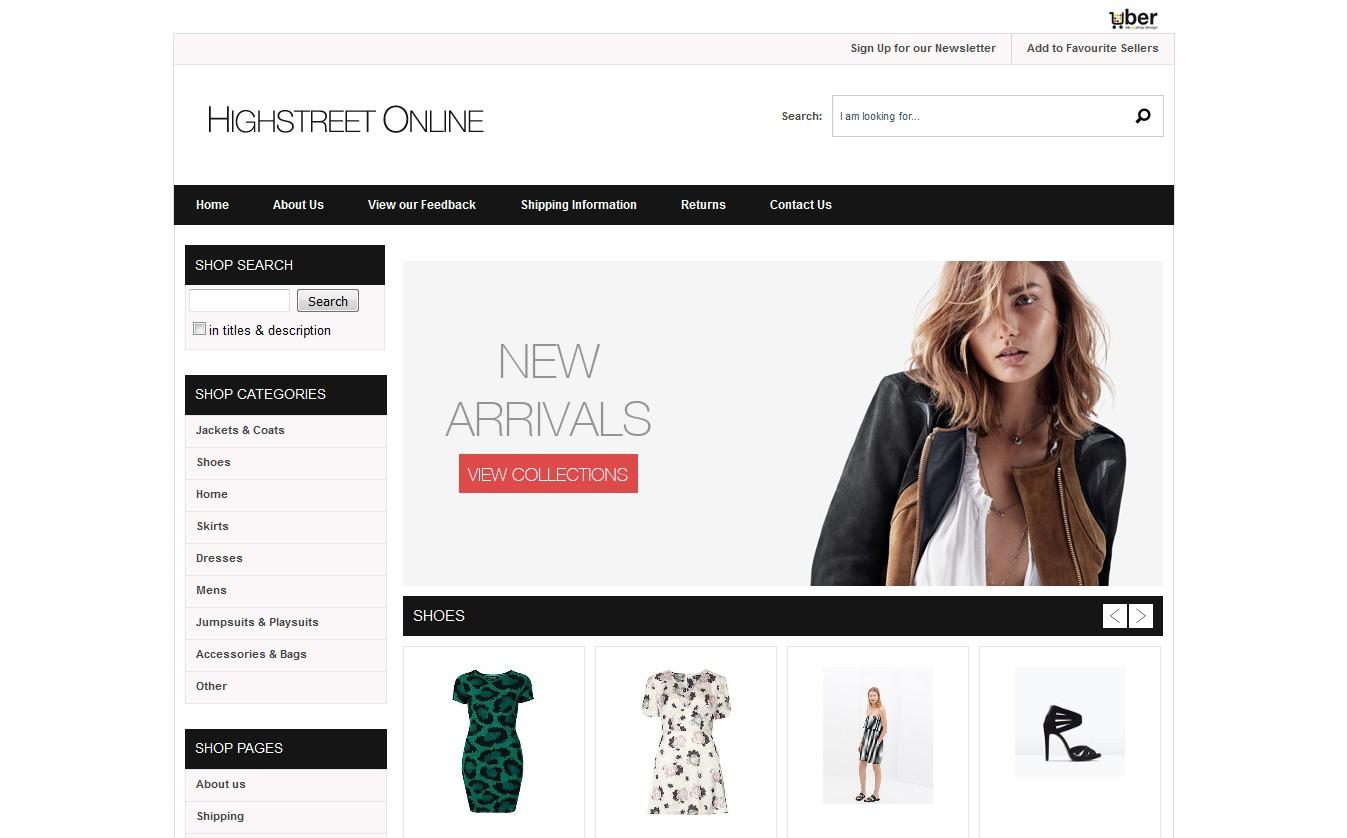 High Street Online Store